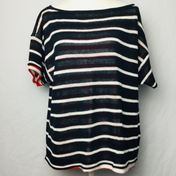 Michael Stars Tops - Michael Stars Ladies Striped 2-Layer Top Size M/L